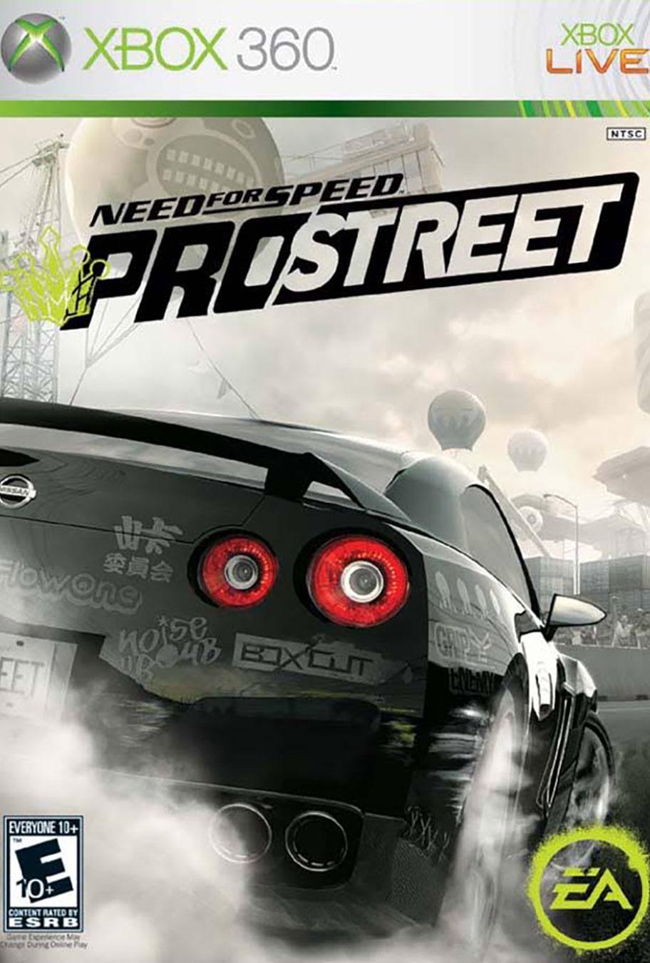 need for speed: prostreet – junkie xl
